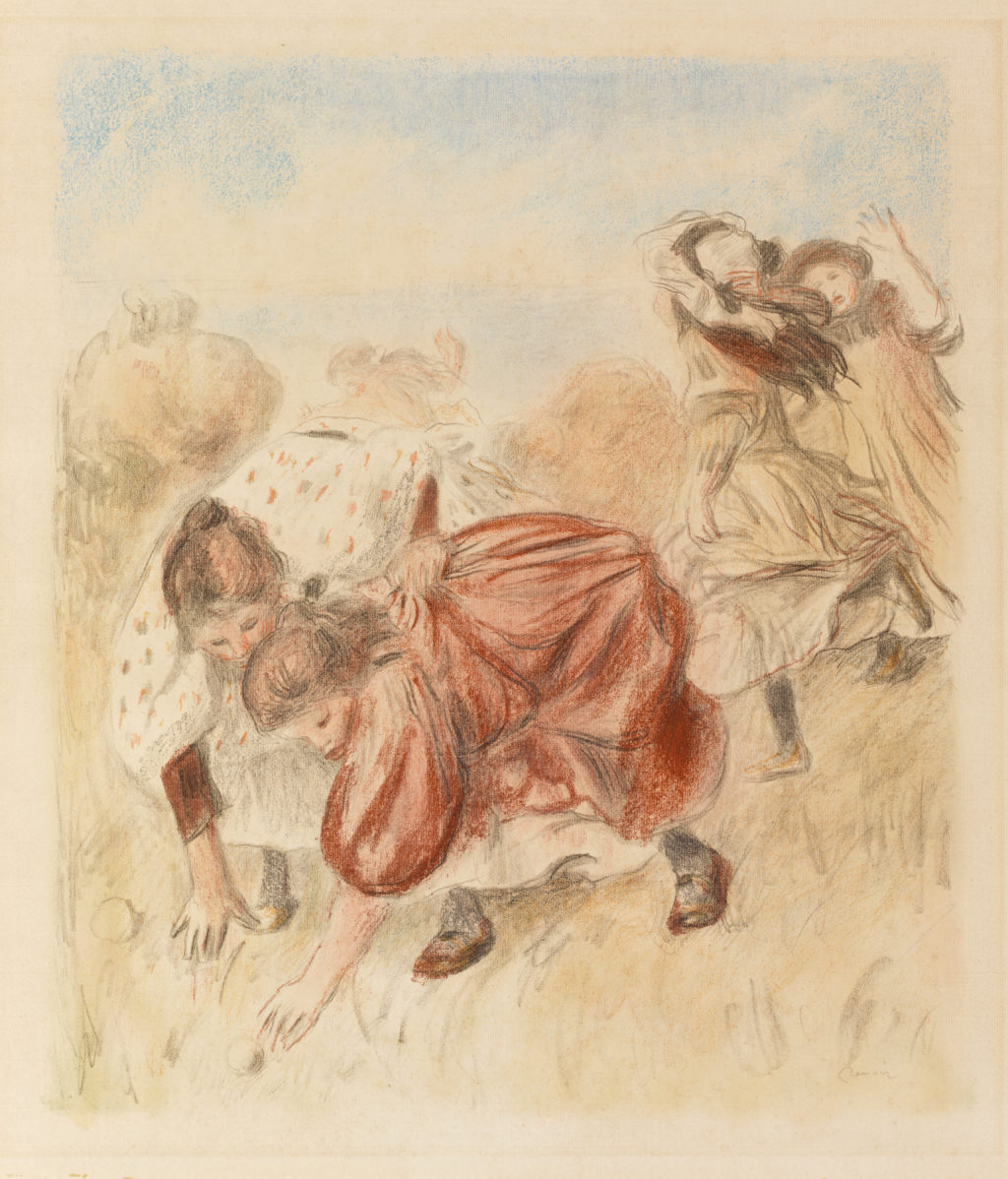 Children Playing Ball (Enfants jouant à la balle)