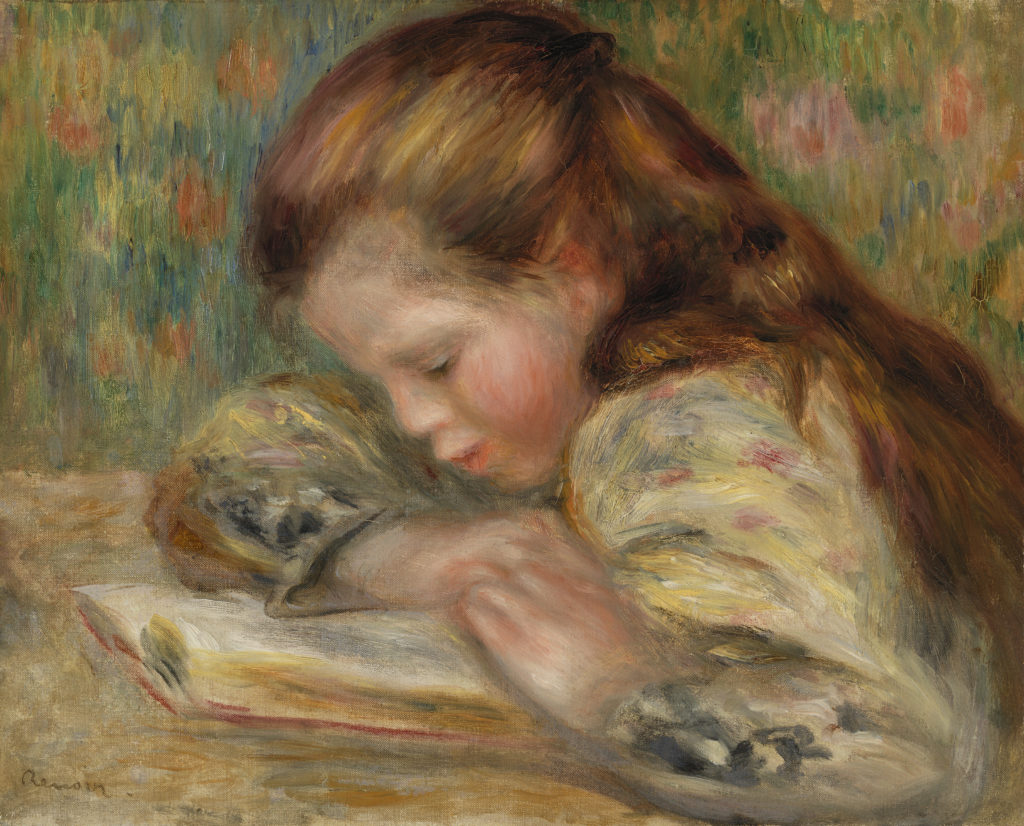 Child Reading (Enfant lisant)