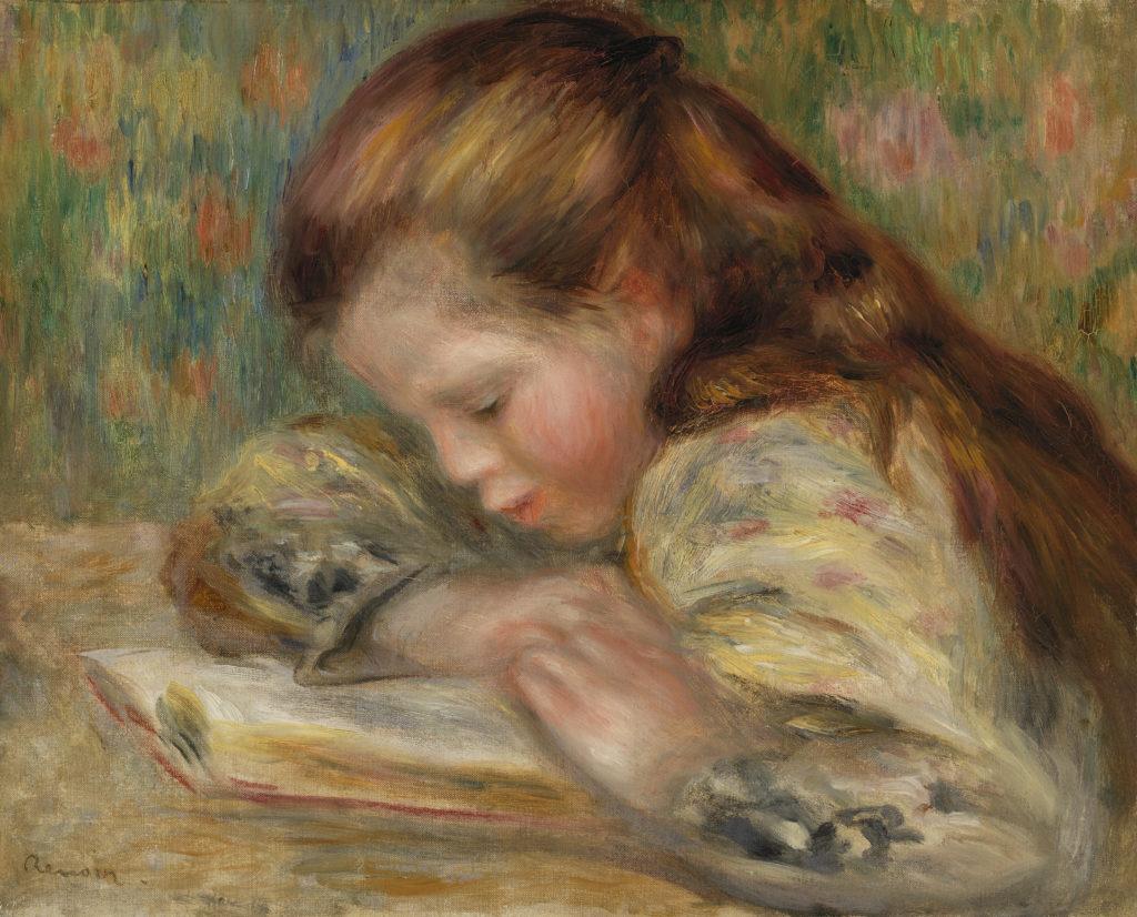 Child Reading (Enfant lisant)