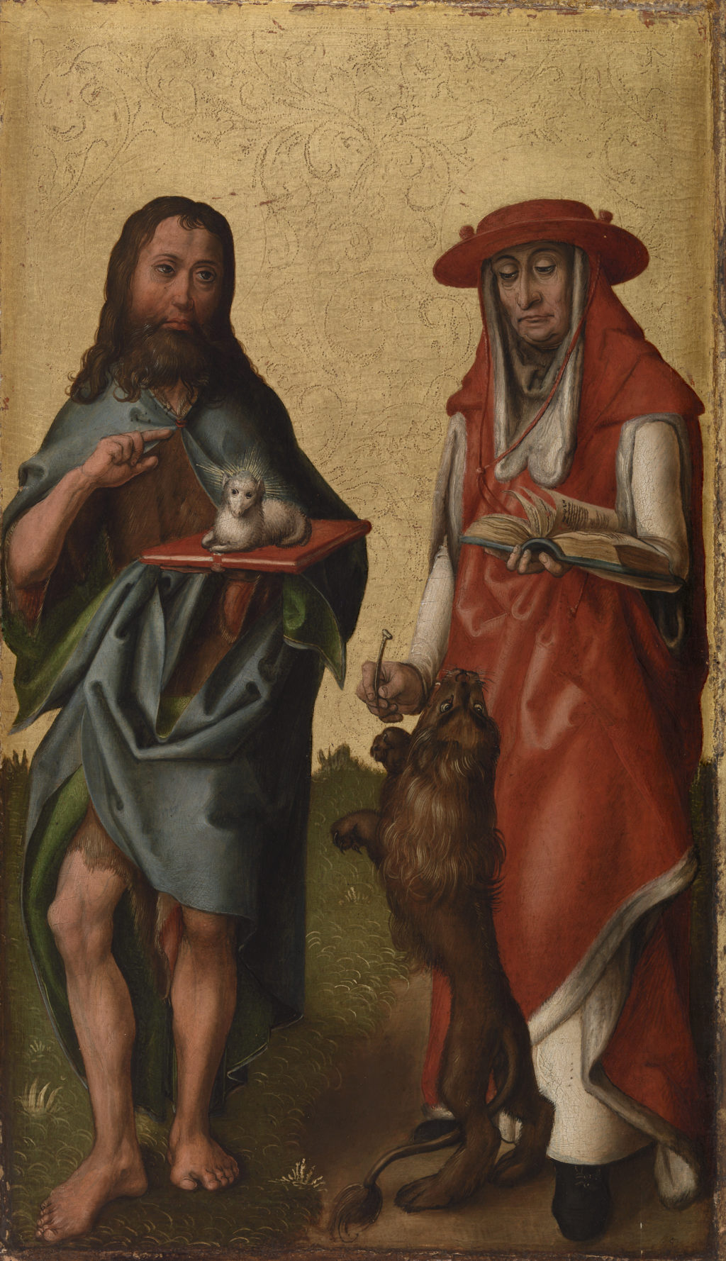 Saints John the Baptist and Jerome