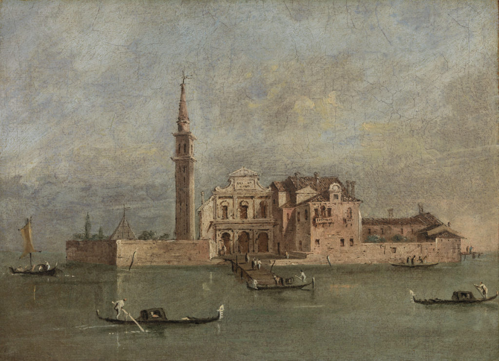 Capriccio of an Island in the Venetian Laguna