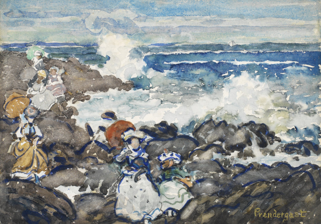 Rocks, Waves and Figures